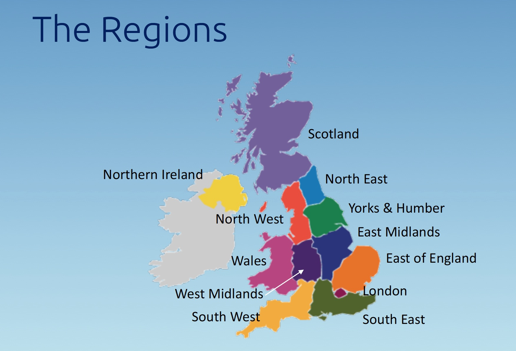 UK U3A Regions Screenshot