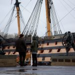 This picture was taken on the excursion to see the Mary Rose in the Royal Naval Dockyard. Portsmouth.