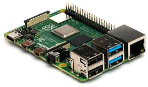 Downloaded from https://commons.wikimedia.org/wiki/File:Raspberry_Pi_4_Model_B_-_Side.jpg  This file is licensed under the Creative Commons Attribution-Share Alike 4.0 International