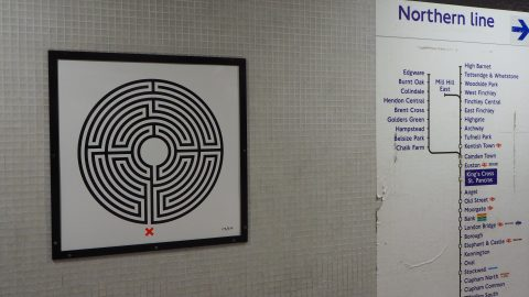 Labyrinth by Mark Wallinger