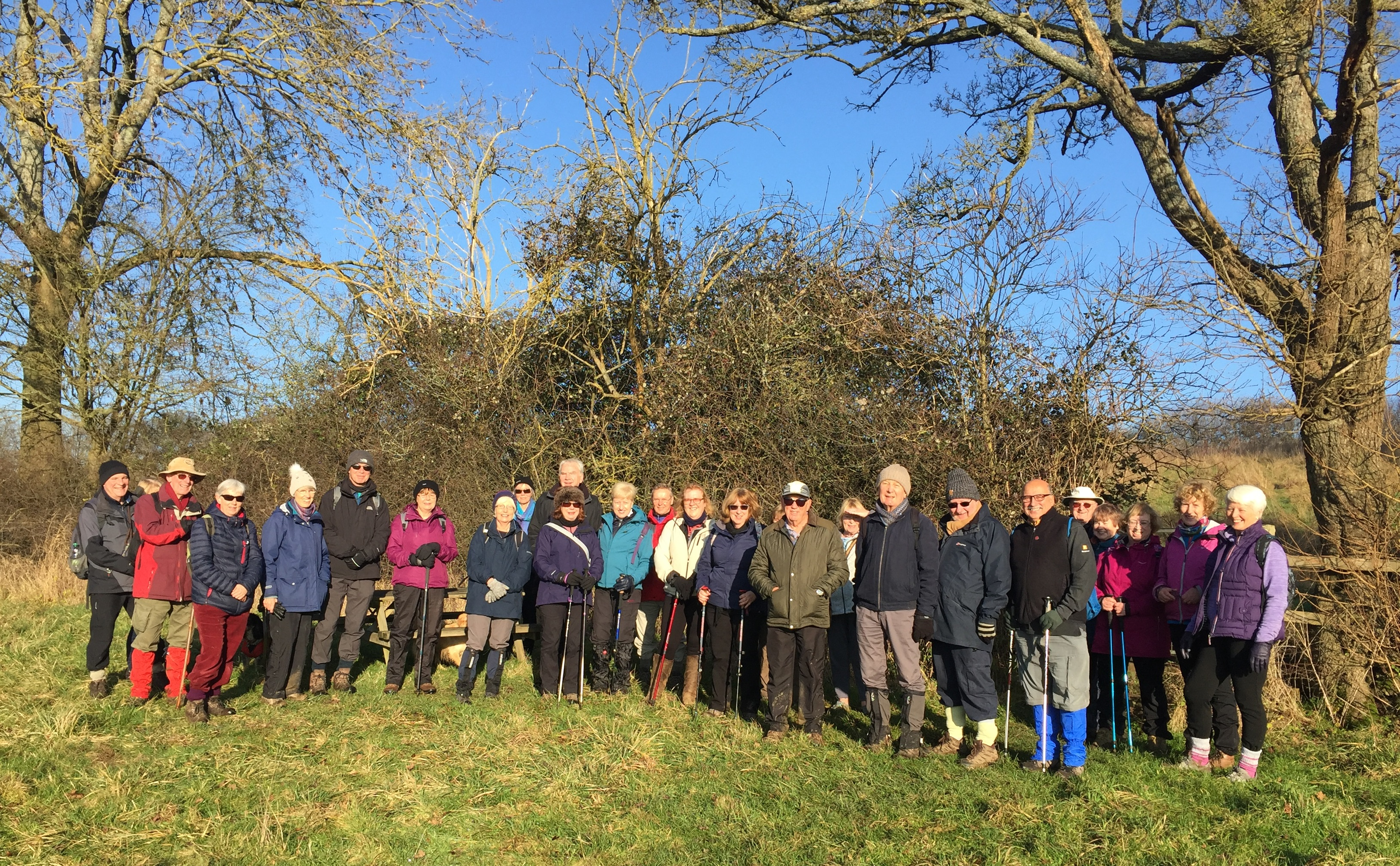 Walking – 2 to 6 Miles - Chesham Vale on 30 December