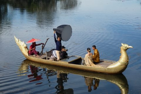 Photo Shoot on the Meekong River (2)
