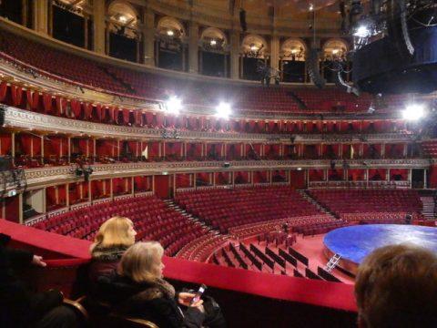 The set for current Cirque du Soleil performance